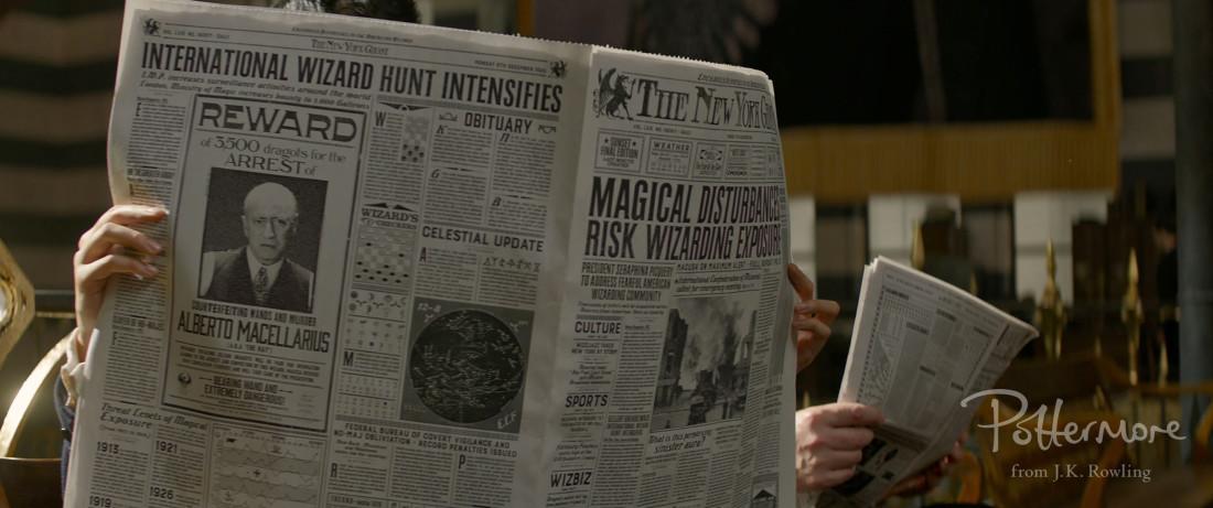 Potterish :: Harry Potter, o Ickabog, Animais Fantásticos e JK Rowling POTTERMORE: 16 coisas que aprendemos com o novo trailer de Animais Fantásticos
